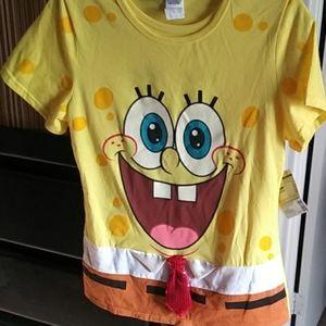 Lady's spongebob t-shirt